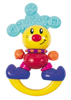 """Clown"" rattle 646160"