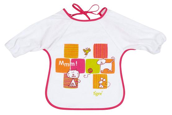 Bib with sleeves 812089